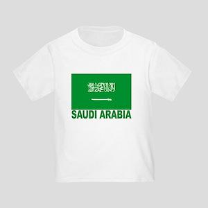 Saudi Arabia Flag Toddler T-Shirt
