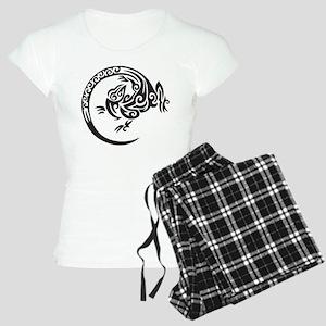 Tribal Lizard Women's Light Pajamas