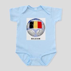 Belgium soccer Infant Creeper