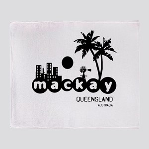 Mackay Aussie Towns Home and Throw Blanket