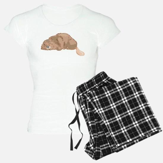 Cute Beaver Pajamas