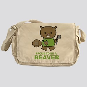 Proud To Be A Beaver Messenger Bag