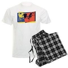 Pop Art Cow Pajamas