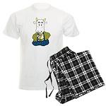 Kimono Cow Men's Light Pajamas
