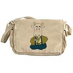 Kimono Cow Messenger Bag