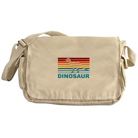Colorful Dinosaur Messenger Bag