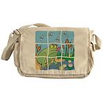 Frog Messenger Bag