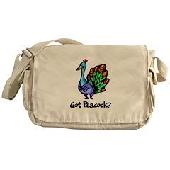 Got Peacock? Messenger Bag