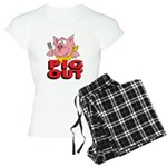 Pig Out Women's Light Pajamas