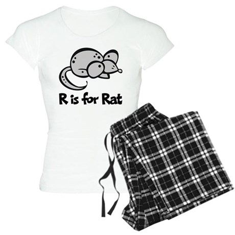 R is for Rat Women's Light Pajamas