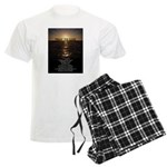 Our Father Prayer Men's Light Pajamas