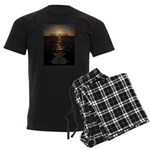 Our Father Prayer Men's Dark Pajamas
