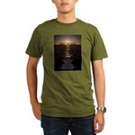 Our Father Prayer Organic Men's T-Shirt (dark)