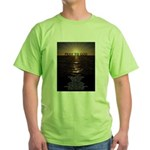 Our Father Prayer Green T-Shirt