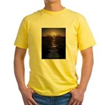 Our Father Prayer Yellow T-Shirt