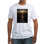 Our Father Prayer Fitted T-Shirt