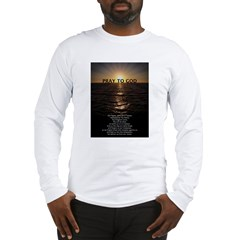 Our Father Prayer Long Sleeve T-Shirt