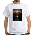 Our Father Prayer White T-Shirt