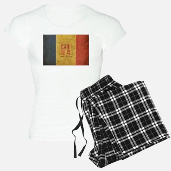 Vintage Andorra Flag Pajamas