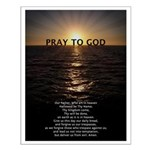 Our Father Prayer Small Poster