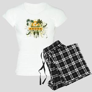 Palm Tree Aruba Women's Light Pajamas