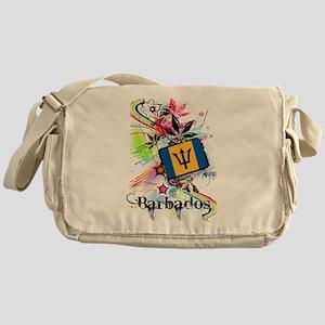 Flower Barbados Messenger Bag
