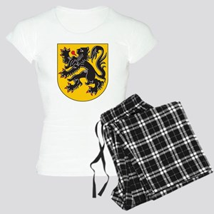 Flanders Coat Of Arms Women's Light Pajamas
