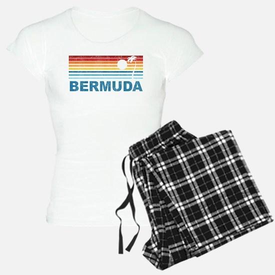 Palm Tree Bermuda Pajamas