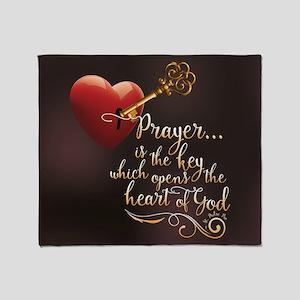 Heart of God Throw Blanket