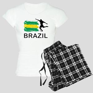 Brazil Football Women's Light Pajamas