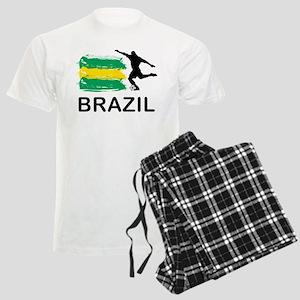 Brazil Football Men's Light Pajamas