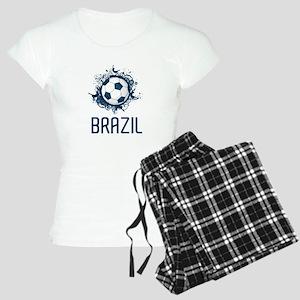 Hip Brazil Football Women's Light Pajamas