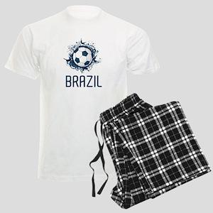 Hip Brazil Football Men's Light Pajamas