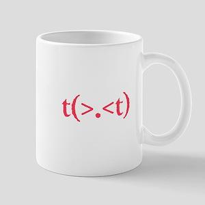Rude Emote Pink Mug