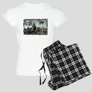 Vintage Angkor Wat Women's Light Pajamas