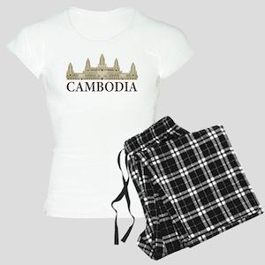 Cambodia Angkor Wat Women's Light Pajamas