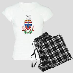 Yukon Coat Of Arms Women's Light Pajamas