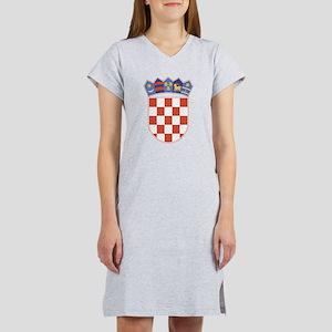 Croatia Coat Of Arms Women's Nightshirt