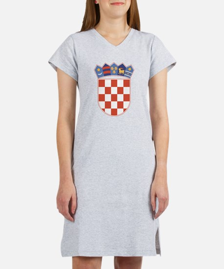 Croatia Coat Of Arms Women's Nightshirt