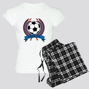 Soccer Croatia Women's Light Pajamas