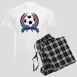 Soccer Croatia Men's Light Pajamas