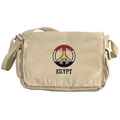 Peace in Egypt Messenger Bag