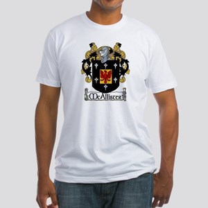 McAllister Coat of Arms Fitted T-Shirt