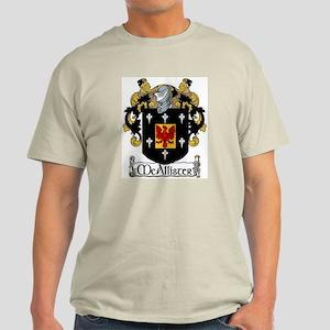 McAllister Coat of Arms Light T-Shirt