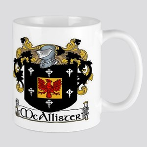 McAllister Coat of Arms Mug
