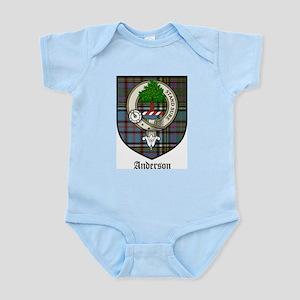 Anderson Clan Crest Tartan Infant Creeper