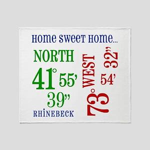 rhinebeck coordinates Throw Blanket