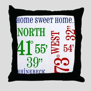 rhinebeck coordinates Throw Pillow