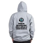 Doing for Ourselves Zip Hoodie