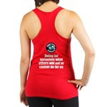 Doing for Ourselves Racerback Tank Top